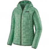 Patagonia - Micro Puff Hoody Insulating Jacket Women gypsum green