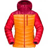 Norrona - lyngen down850 Daunenjacke Damen orange crush