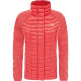 The North Face® - ThermoBall™ Hybrid Jacke Damen cayenne red