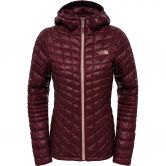 The North Face® - Thermoball™ Hoodie Damen deep garnet red