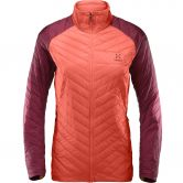 Haglöfs - L.I.M Barrier Insulated Jacket Women coral pink aubergine