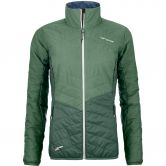 ORTOVOX - Swisswool Dufour Jacket Women green isar