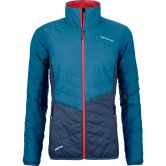 ORTOVOX - Swisswool Dufour Jacke Damen blue sea