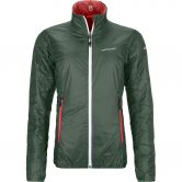 ORTOVOX - Swisswool Piz Bial Isolationsjacke Damen green forest