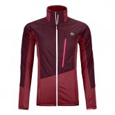 ORTOVOX - Westalpen Swisswool Hybrid Jacket Women dark blood