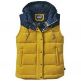 Patagonia - Bivy Hooded Down Weste Damen sulphur yellow
