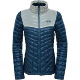 The North Face® - Thermoball™ Fullzip Jacke Damen shady blue/vintage white