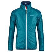 ORTOVOX - Swisswool Piz Bial Isolationsjacke Damen aqua blend