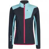 Montura - Ski Style Softshell Jacket Women piombo ice blue