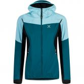 Montura - Air Action Hybrid Jacket Women baltic ice blue