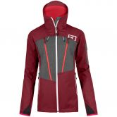 ORTOVOX - Pordoi Jacke Damen dark blood