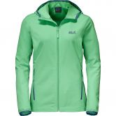 Jack Wolfskin - Turbulence Jacket Softshell Women spring green