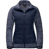 Jack Wolfskin - Belleville Crossing Fleecejacke Damen blue