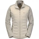 Jack Wolfskin - Caribou Crossing Track Fleecejacke Damen light sand