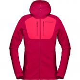 Norrona - lyngen Powerstretch Pro Fleece Jacket Women rhubarb