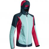 Montura - Wind Revolution Hoody Softshelljacke Damen ice blue rosa sugar