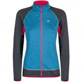 Montura - Thermal Color Maglia Fleece Jacket Women blu ottanio rose sugar