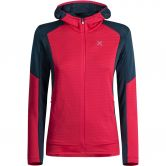 Montura - Stretch Color Hoody Jacket Women rosa sugar blu cenere