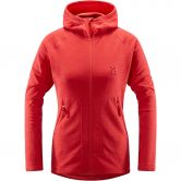 Haglöfs - Heron Fleece Jacket Women hibiscus red