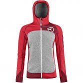 ORTOVOX - Fleece Plus Hoody Damen hot coral