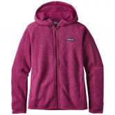 Patagonia - Better Sweater Kapuzenjacke Fleece Damen magenta