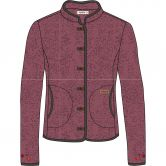 Maloja - MachidaM. Fleecejacke Damen frosted berry