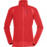 Norrona - Lofoten Warm1 Fleece Jacket Women crisp ruby