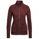 Maier Sports - Iva Fleecejacke Damen red dahlia blue melange
