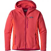 Patagonia - Performance Better Sweater Fleece Kapuzenjacke Damen carve coral