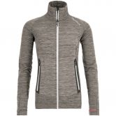 ORTOVOX - Fleece Light Melange Jacke Damen grey blend