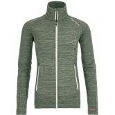ORTOVOX - Fleece Light Melange Jacket Women green forrest blend