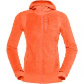 Norrona - Lofoten Alpha Raw Zip Kapuzenjacke Damen orange alert