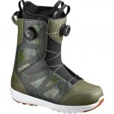 Salomon - Launch Boa SJ Herren camo dark olive