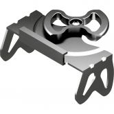 Union - Crampons silver