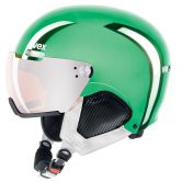 Uvex - Hlmt 500 Visor Chrome LTD Helm green