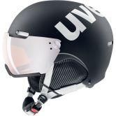 Uvex - HLMT 500 Visor black white mat