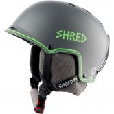 Shred - Half Brain D-Lux Helm bigsho grey green