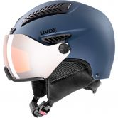 Uvex - HLMT 600 visor blue mat