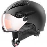 Uvex - HLMT 600 visor black mat