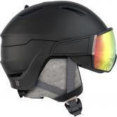 Salomon - Mirage + Photo Visor Helmet black rose gold