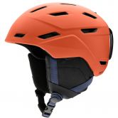 Smith - Mission Skihelm matte red rock