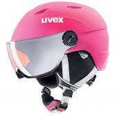 Uvex - Junior Visor Pro helmet pink matt