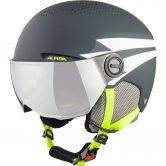 Alpina - Zupo Visor Helmet Kids charcoal neon matt