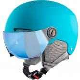 Alpina - Zupo Visor Helmet Kids turquiose matt