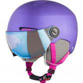 Alpina - Zupo Visor Helmet Kids violet matt