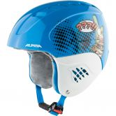 Alpina - Carat Set Disney Helm + Goggle Kinder donald duck