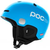 Poc Sports - Pocito Auric Cut Spin Kinderhelm fluorecent blue