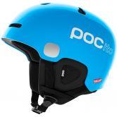 Poc Sports - Pocito Auric Cut Spin Helmet Kids fluorecent blue