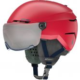 Atomic - Savor Visor JR Helm Kinder rot