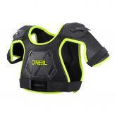 O'Neal - Peewee Chest Guard neon yellow